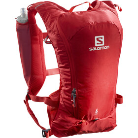 Salomon Agile 6 Rugzak Set, goji berry